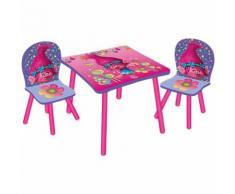 Kindersitzgruppe 3-tlg., Trolls, Prinzessin Poppy