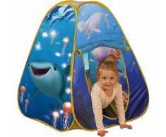 Pop Up Spielzelt Findet Dorie, mit Lichterkette