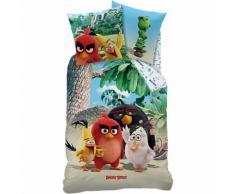 Kinderbettwäsche Angry Birds Palm Beach, Renforcé, 135 x 200 cm