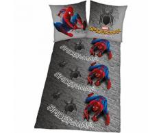 Kinderbettwäsche Spiderman Homecoming, Microfaser, 135 x 200 cm