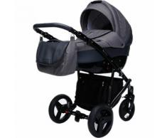 Kombi Kinderwagen Nox, 2 in 1, Black Collection, Graphit, 2017