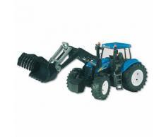 BRUDER 03021 New Holland T8040 Traktor mit Frontlader