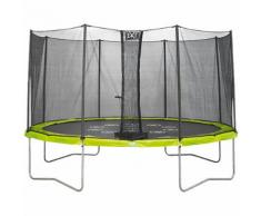 EXIT Twist Trampolin grün/grau, 366 cm