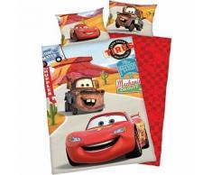 Wende- Kinderbettwäsche Disney Cars, Renforcè, 100 x 135 cm
