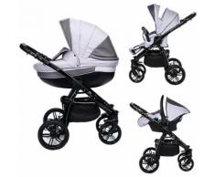 Kombi Kinderwagen Isabel, 3 in 1, Black Collection, Marengo, 2017