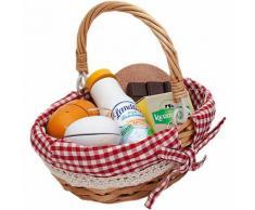 Picknickkorb klein den Kaufladen Kleinkinder