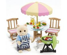 Sylvanian Families Garten-Grill-Set Puppenhauszubehör