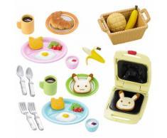 Sylvanian Families Frühstücks-Set Puppenhauszubehör