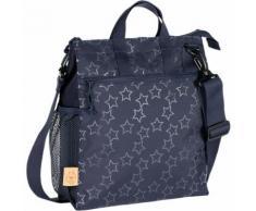 Wickeltasche Casual, Buggy Bag, Reflective Star, navy