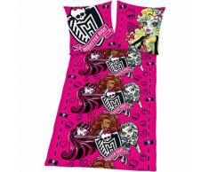 Kinderbettwäsche Monster High, Linon, 135 x 200 cm
