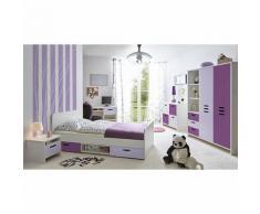 Kinder- und Jugendzimmer Clou, 5-tlg., lila