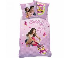 Kinderbettwäsche Soy Luna, Biber, 135 x 200 cm