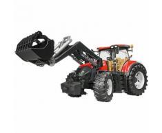 BRUDER 03191 Trak 33cm Case IH Optum 300 CVX mit Frontlader
