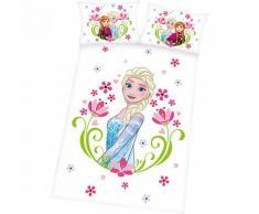 Kinderbettwäsche Disney Die Eiskönigin, Renforcé, 100 x 135 cm