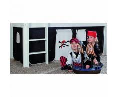Vorhangset Spielbett ELIYAS und ALEX (ohne Rutsche), Pirat Kinder