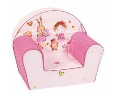 Kindersessel Spielzimmer, pink