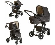 Kombi Kinderwagen Atlantic Plus Trioset, caviar