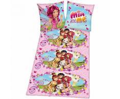 Kinderbettwäsche Mia & Me, Renforcé, 135 x 200 cm