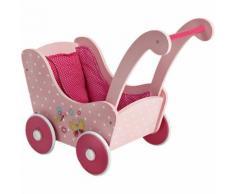 Holz-Puppenwagen, Papilio pink