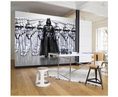Fototapete Star Wars, Das erwachen der Macht, Darth Vader & Stormtrooper, 368 x 254 cm