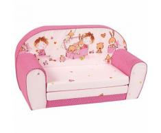 Kindersofa Spielzimmer, pink