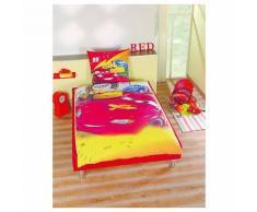 Wende- Kinderbettwäsche, Cars, 135 x 200 cm