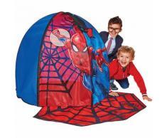 Spielzelt, Spiderman, mit Türmatte, rot
