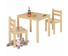 Kindersitzgruppe Kalle, 3-tlg., natur