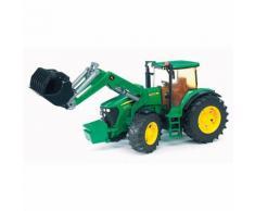 BRUDER 03051 John Deere Traktor 7930 mit Frontlader