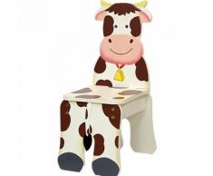 Kinderstuhl Bauernhof Kuh, teilmassiv