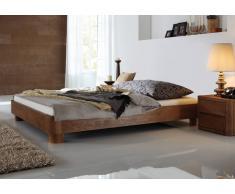 Massivholzbett Bett Varedero Eiche Massiv ohne Kopfteil