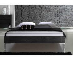 Massivholzbett Bett Artemis ohne Kopfteil