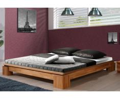 Massivholzbett Bett Vincenzo Kernbuche ohne Kopfteil