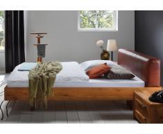 Massivholzbett Bett Meteor Wildeiche mit Bettkasten