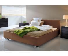 Lederbett Hasena Dream-Line Bett Rondo in Kunstleder, Echtleder oder Stoff erhältlich