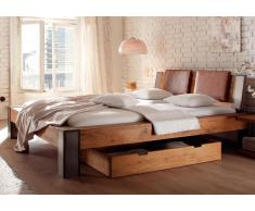 Massivholzbett Hasena Oak-Line Wild Bett Bormio