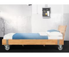 Massivholzbett Bett Warin