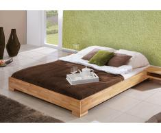 Massivholzbett Bett Mona Kernbuche ohne Kopfteil