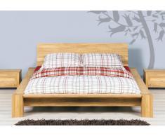 Massivholzbett Bett Jena Eiche ohne Kissen
