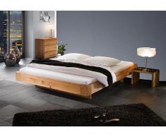 Massivholzbett Bett Senta ohne Kopfteil