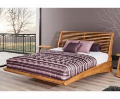 Massivholzbett Bett Firenze Eiche mit Bettkasten
