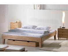Massivholzbett Bett / Liege Juva