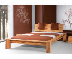 Massivholzbett Bett Jena Kernbuche high mit Bettkastenoption