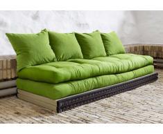 Futonbett Designer Sofa Schick mit Schlaffunktion