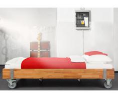 Massivholzbett Bett Warin Kernbuche ohne Kopfteil