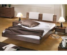 Massivholzbett Bett Cardo chocolat