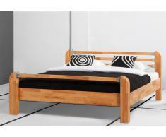 Massivholzbett Bett Miami Kernbuche mit Bettkastenoption