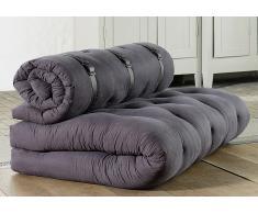 Futonbett Designer Sofa mit Schlaffunktion
