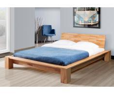 Massivholzbett Bett Jena Kernbuche ohne Kissen