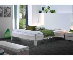 Massivholzbett Bett Lino ohne Kopfteil